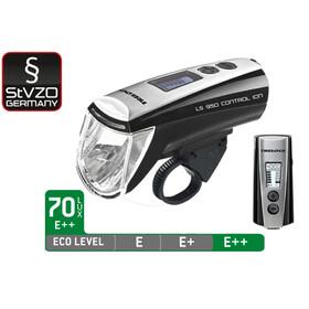 Trelock Set de lampes LS 950 CONTROL ION / LS 720 - Kit éclairage vélo - noir